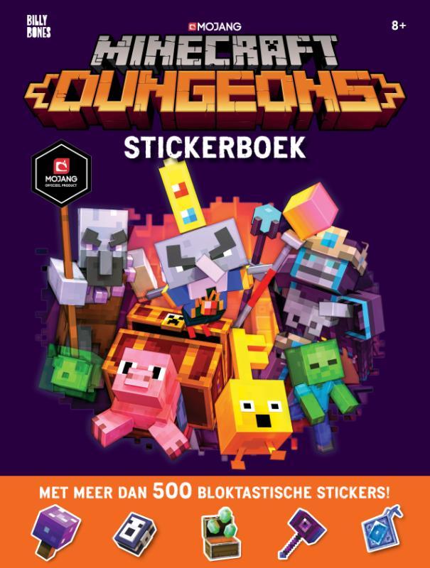 Minecraft - Dungeons Stickerboek