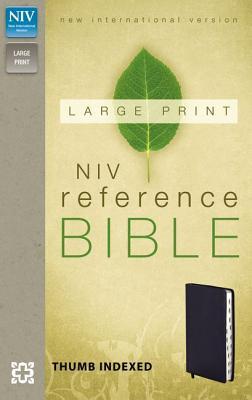 Reference Bible-NIV-Large Print