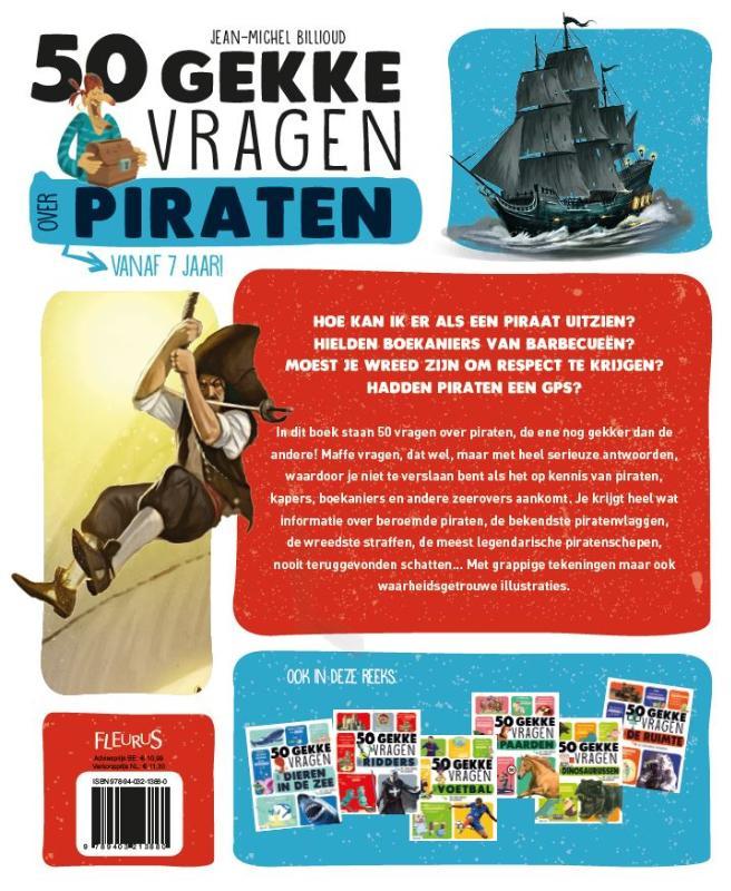 50 gekke vragen - 50 gekke vragen over piraten