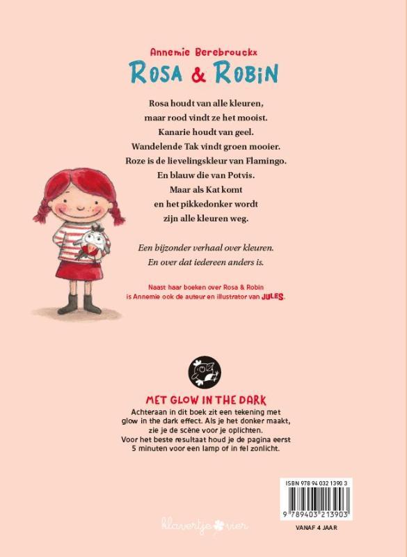 Rosa en Robin - Rood vind ik het allermooist!