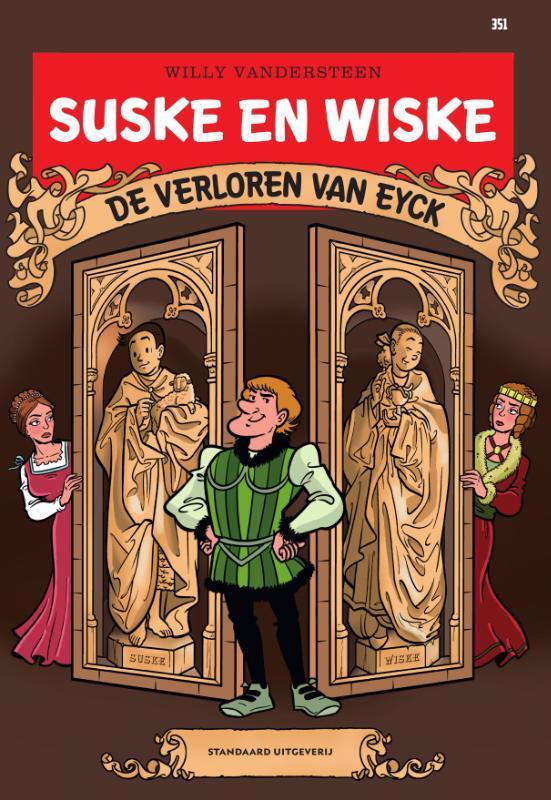 Suske en Wiske 351 - De verloren Van Eyck
