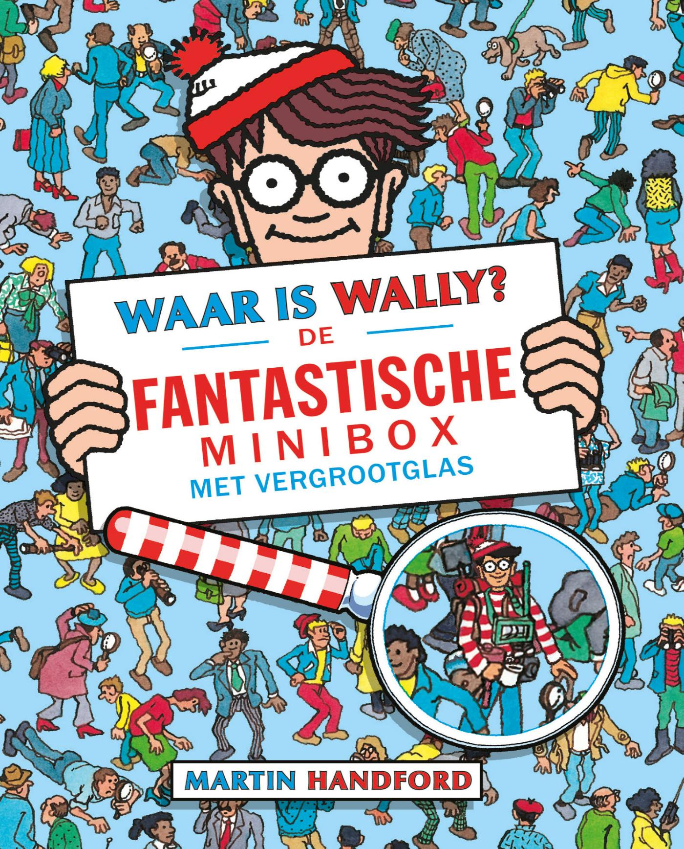 Waar is Wally De fantastische minibox met vergrootglas