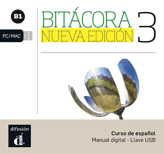 Bitácora 3 nueva edición Llave USB con libro digital