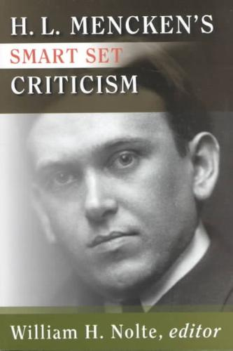 H.L. Mencken's Smart Set Criticism