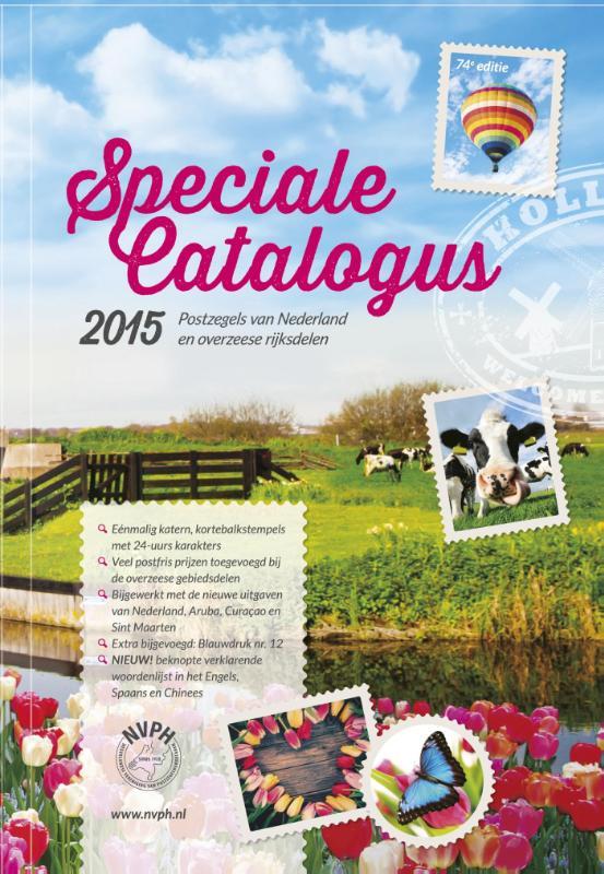 Speciale catalogus 2015 van de postzegels van Nederland en overzeese rijksdelen