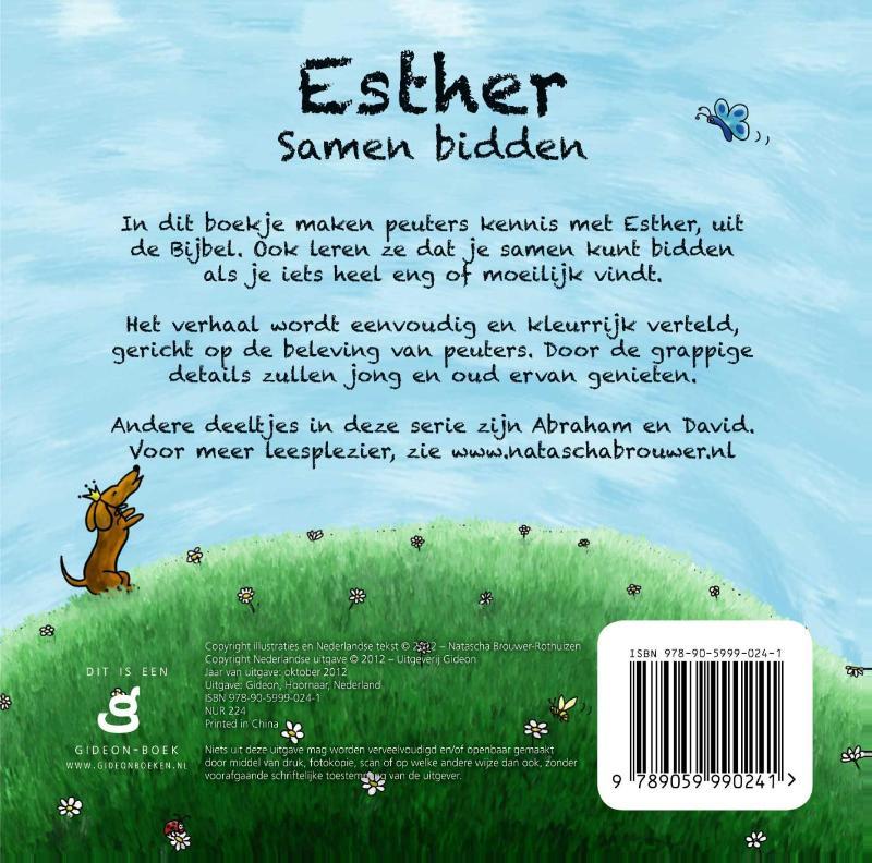 PeuterBijbelboekjes - Esther