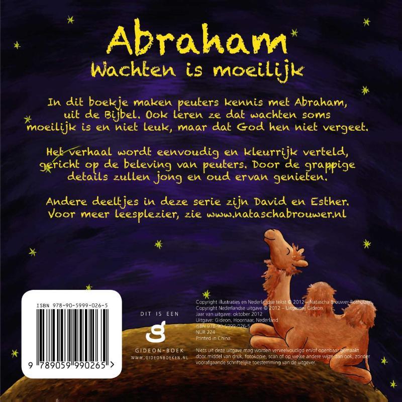 PeuterBijbelboekjes - Abraham, wachten is moeilijk