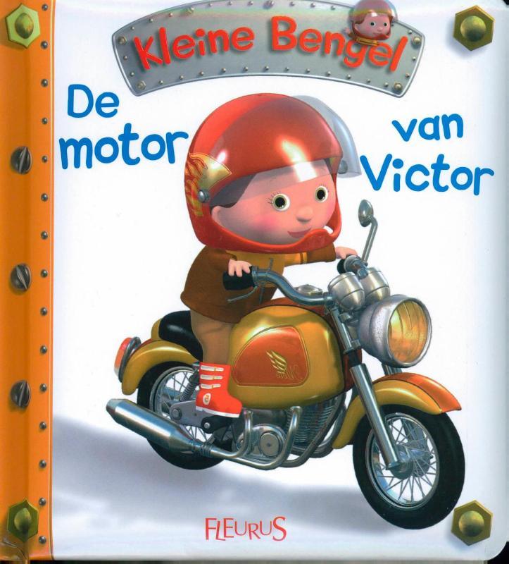 Kleine Bengel De motor van Victor