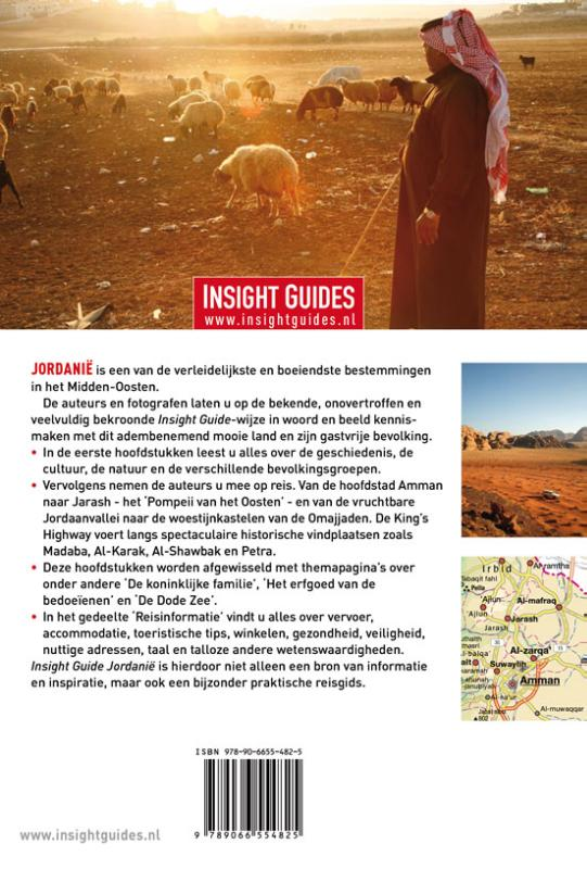 Insight guides - Jordanië