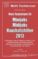 Neue Regelungen für Minijob, Midijobs, Haushaltshilfen 2013