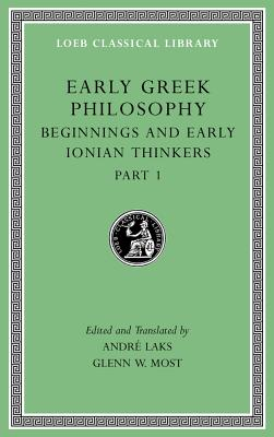 Early Greek Philosophy, Volume II - Beginnings and Early Ionian Thinkers, Part 1  L525