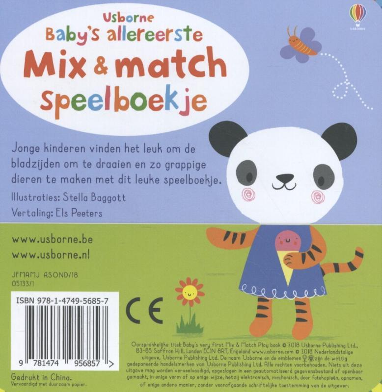 Baby's allereerste Mix & Match
