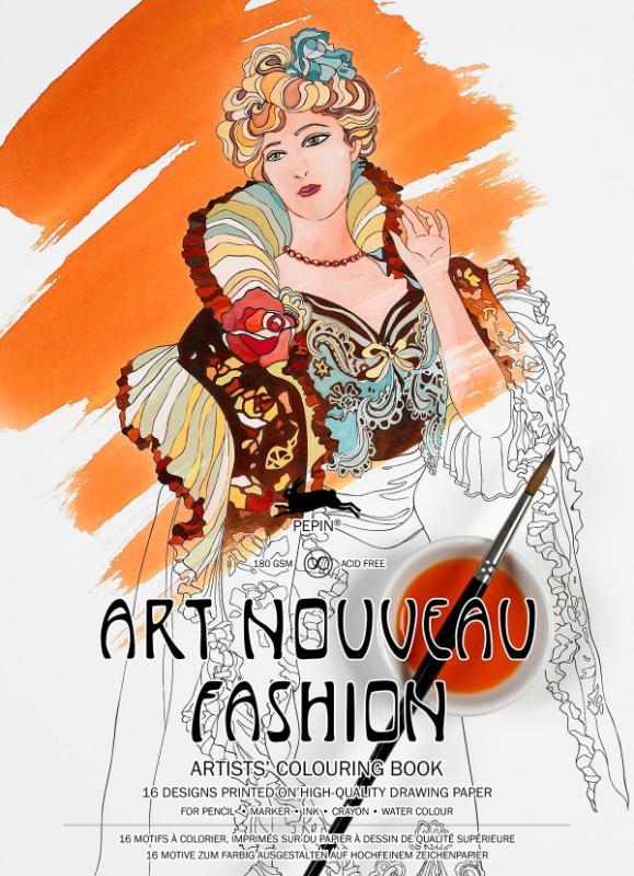 Art nouveau fashion