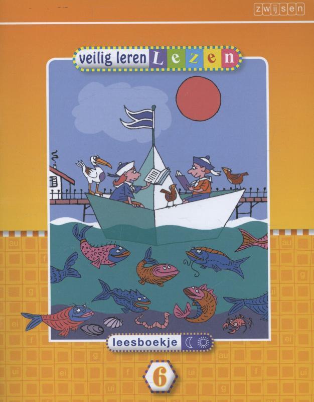 Veilig leren lezen Kim Leesboekje maan-zon 6