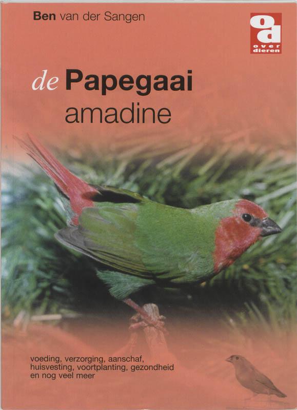 Over Dieren De Papegaai amadine