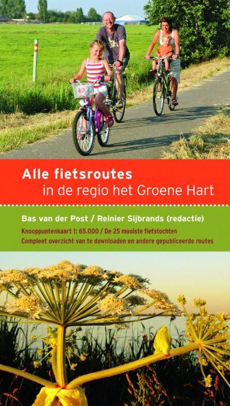 Alle fietsroutes in de regio het Groene Hart