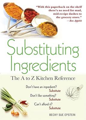 Substituting Ingredients