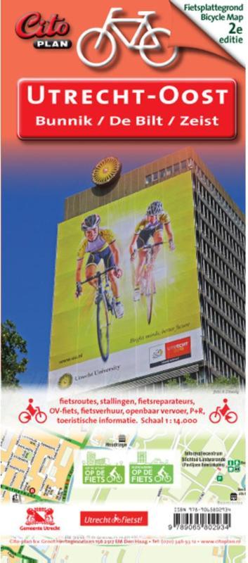 Utrecht Oost fietskaart