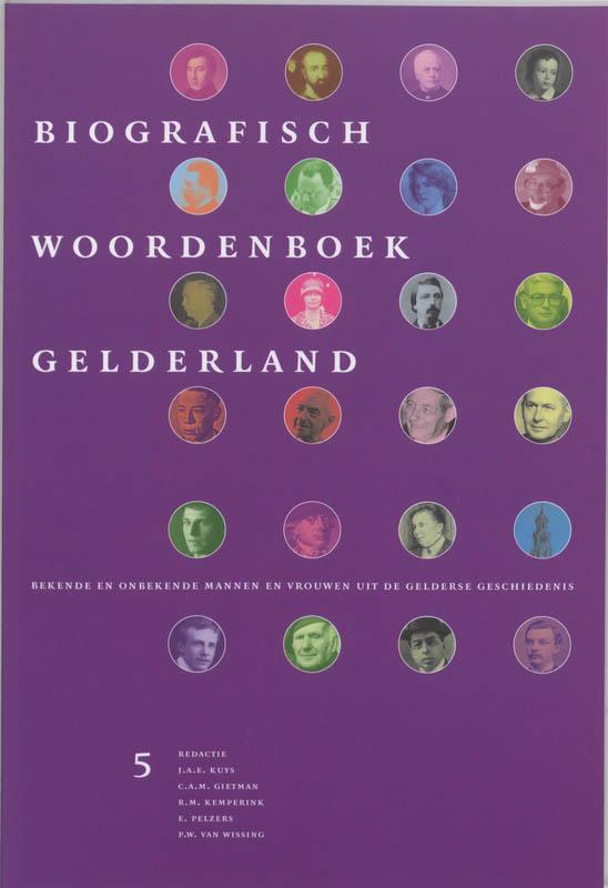 Biografisch Woordenboek Gelderland 5