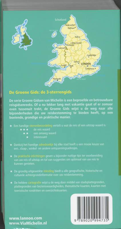 Groene reisgids Engeland - Wales