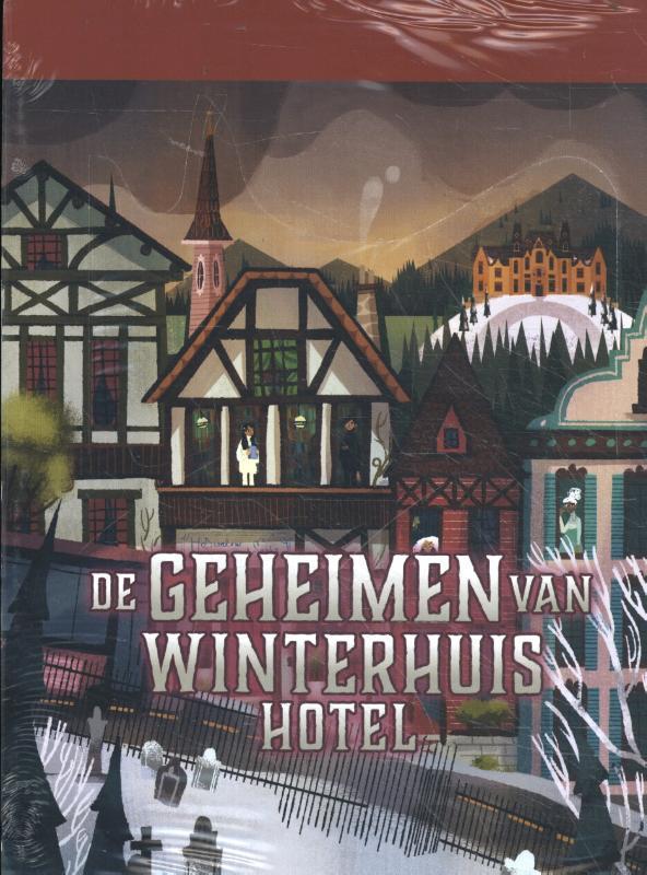 De geheimen van Winterhuis Hotel display 5 ex.