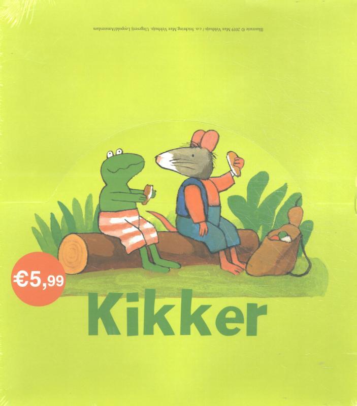 Kikker - Kikker mini editie display 4 x 5 ex.