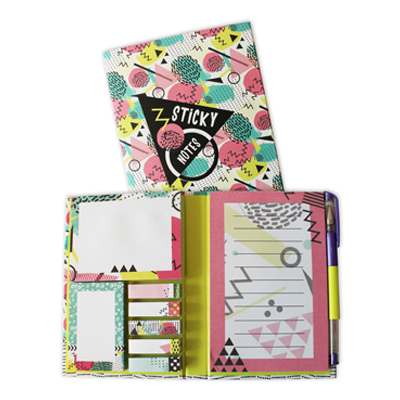Sticky notes pack Eighties
