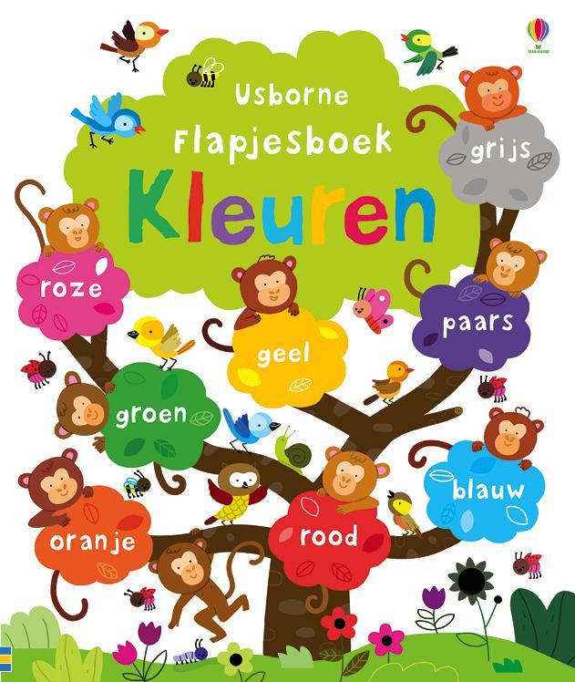 Flapjesboek kleuren
