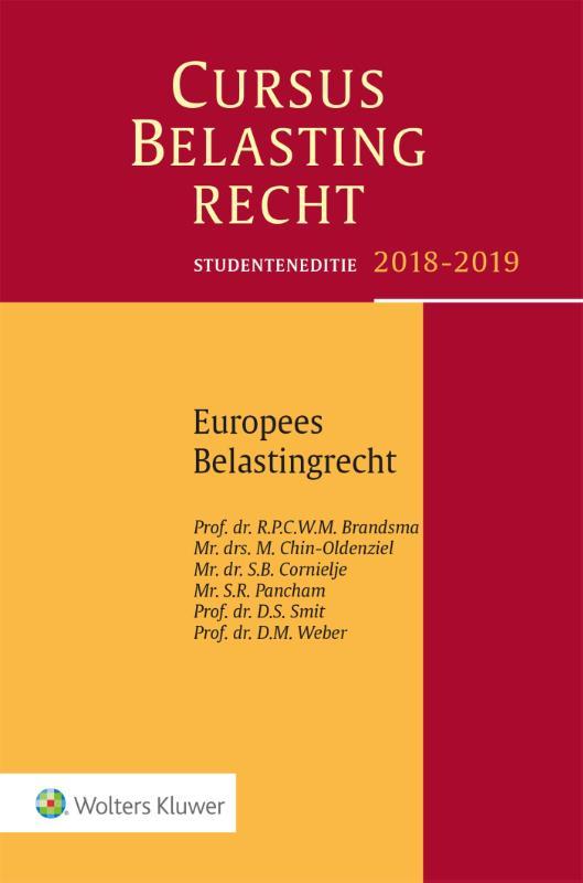 Cursus Belastingrecht Europees Belastingrecht