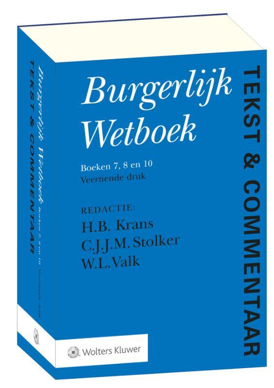 Tekst & Commentaar Burgerlijk Wetboek