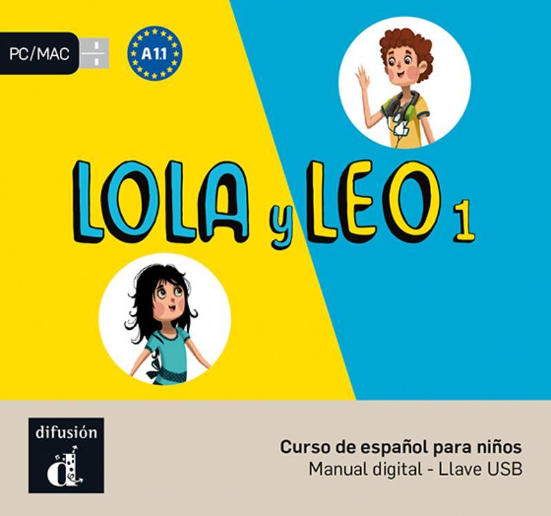 Lola y Leo 1 - A1.1 - Llave USB con libro digital