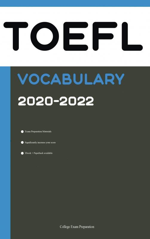 TOEFL Official Vocabulary 2020 Revised Edition