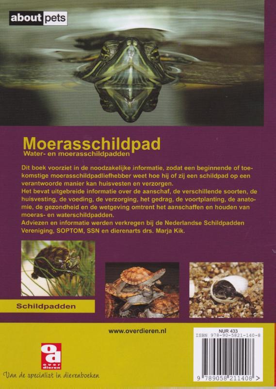 Over Dieren De moerasschildpad