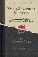 Kant's Gesammelte Schriften