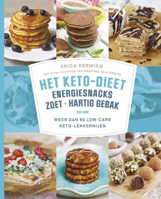 Het keto-dieet: energiesnacks, zoet en hartig gebak