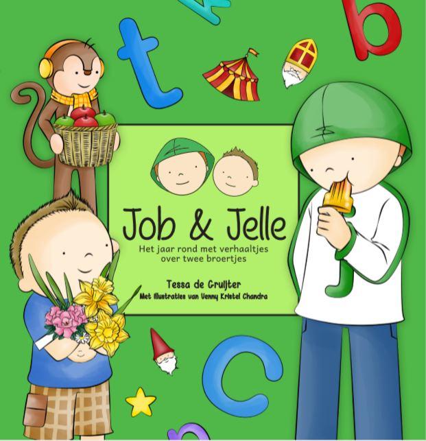 Job & Jelle 2 - Het jaar rond met verhaaltjes over twee broertjes