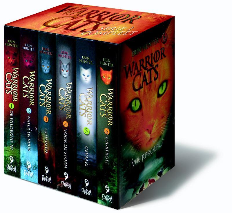 Cadeaubox warrior cats - 6 delen van serie 1