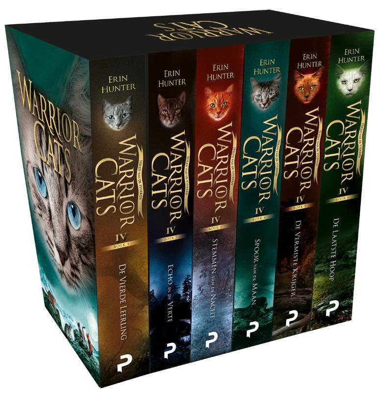 Warrior Cats - Serie 4 Cadeaubox met 6 paperbacks