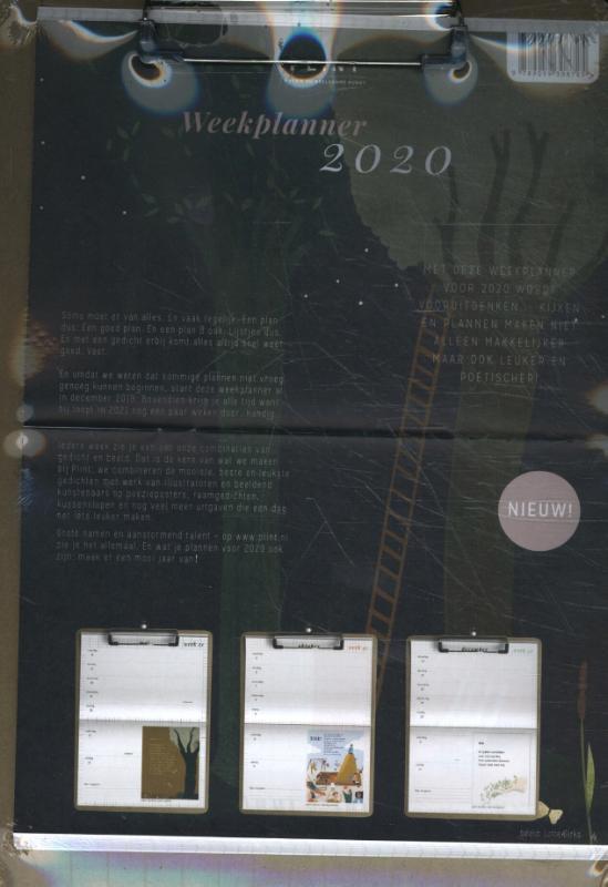 Plint - Plint poëzie weekplanner 2020
