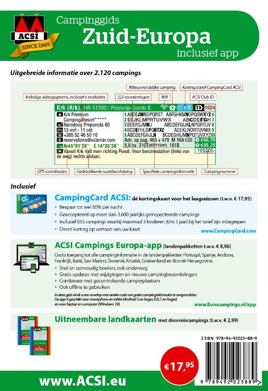 ACSI Campinggids - ACSI Campinggids Zuid-Europa