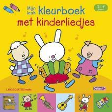Mijn leuk kleurboek met kinderliedjes 2-4 jaar