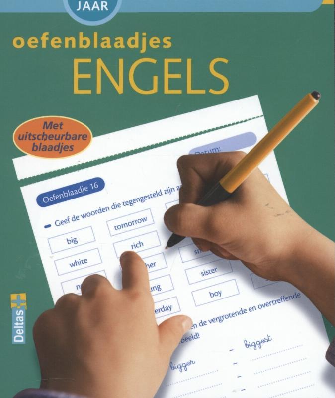Tijd voor huiswerk - Oefenblaadjes Engels
