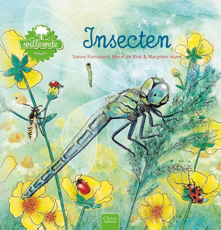 Willewete. Insecten