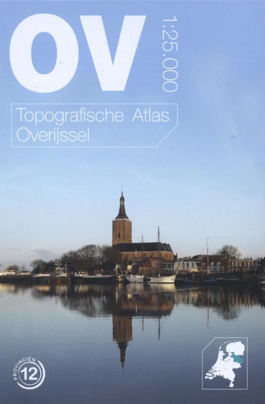 Topografische provincie atlassen Topografische atlas Overijssel