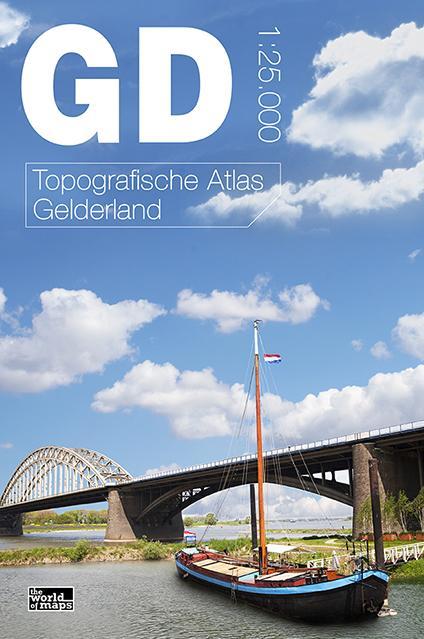 Topografische provincie atlassen Gelderland