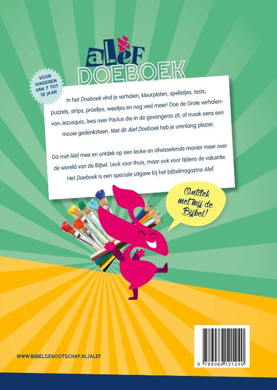 Speel En Leerboeken Tot 12 Jaar Alef Doeboek Set Van 3 Vol