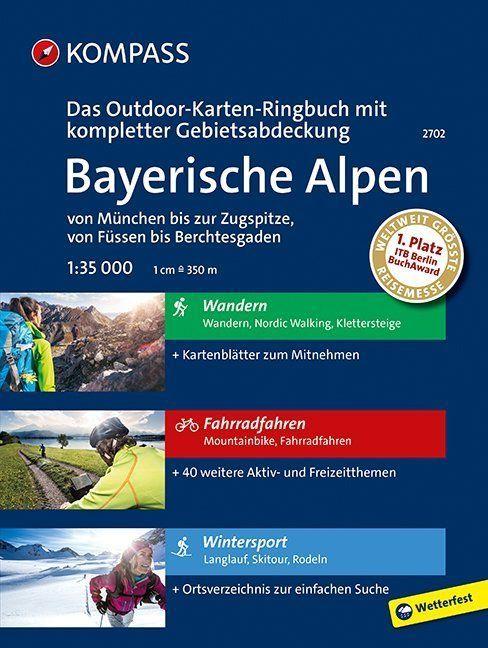 Kompass WK2702 Bayerische Alpen