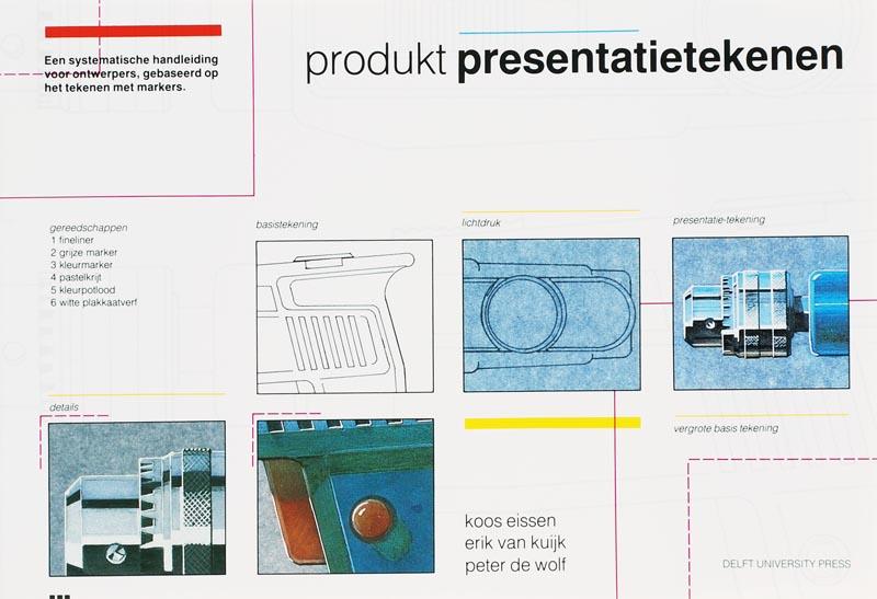 Produkt presentatietekenen