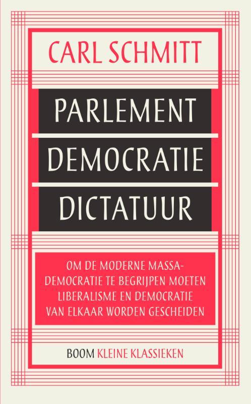 Kleine Klassieken - Parlement, democratie, dictatuur