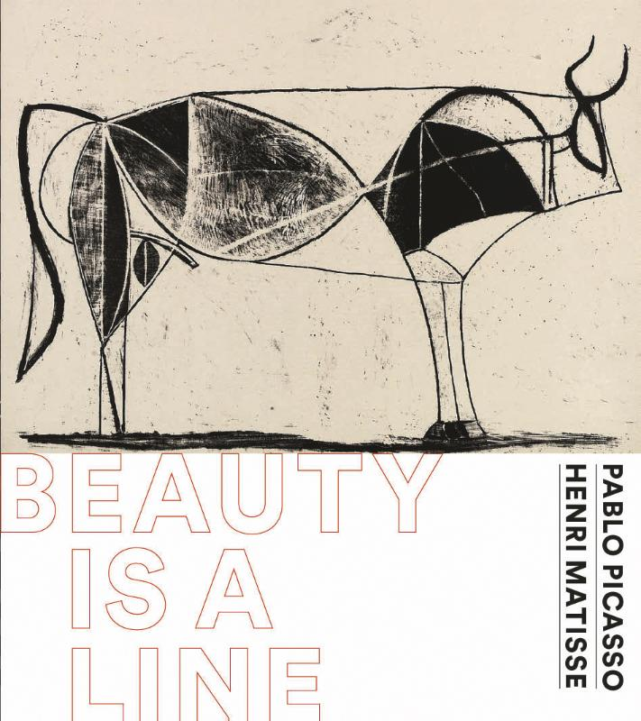 Pablo Picasso &Henri Matisse-Beauty is a line